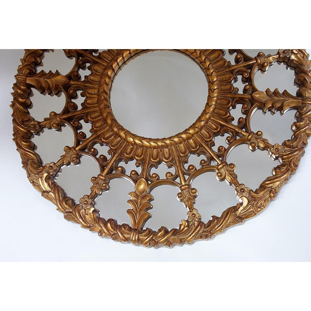 Regency Style Round Mirror For Sale - Image 4 of 8
