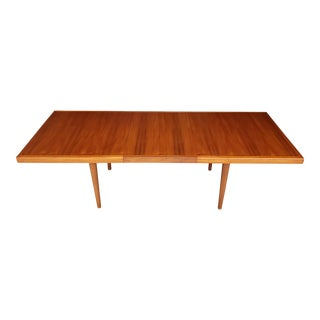1950's Vintage Nanna Ditzel Danish Teak Dining Table For Sale
