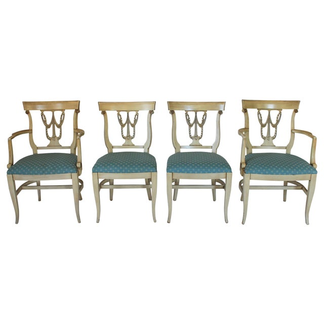 Neoclassical Dining Chairs S/4 - Image 2 of 10