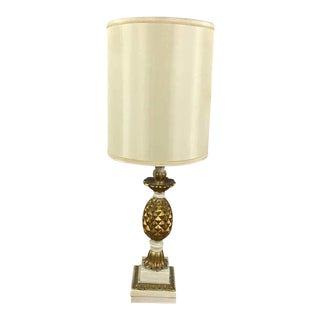Vintage Tropical Pineaple Table Lamps - A Pair