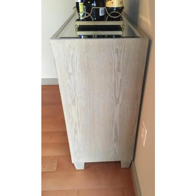 Mirrored Bar Cabinet For Sale - Image 7 of 8