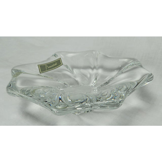 1980s Baccarat Dish For Sale - Image 5 of 8