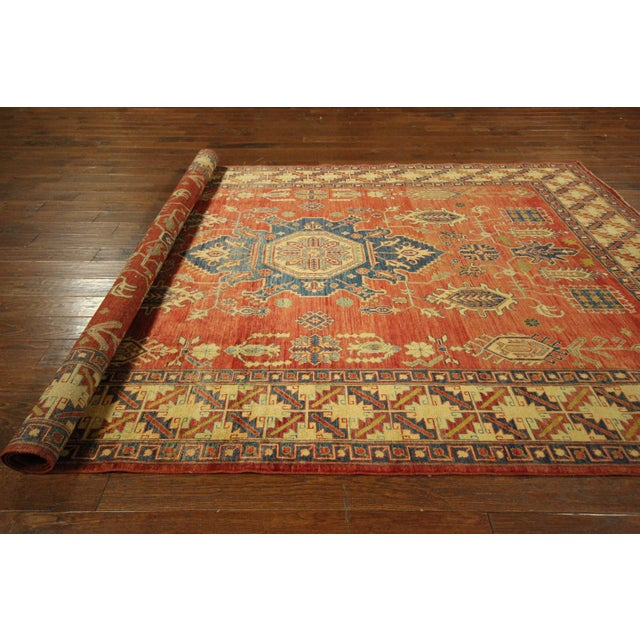"Mojave Collection Kazak Rug - 7'5"" x 11'5"" - Image 10 of 11"