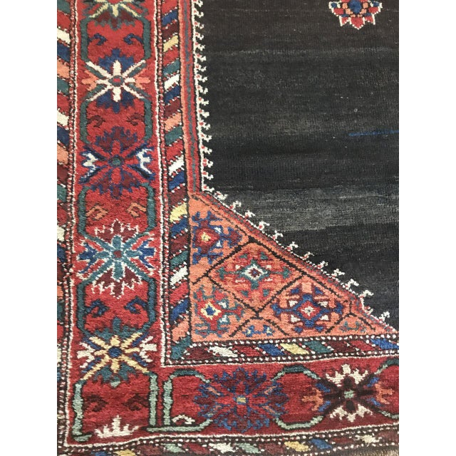 Islamic Bellwether Rugs Kordish Persian Rug - 4′ × 6′7″ For Sale - Image 3 of 7