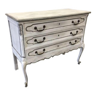 French Louis XV Style 3-Drawer Commode For Sale