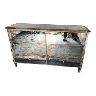 Restoration Hardware Mirrored Dresser For Sale
