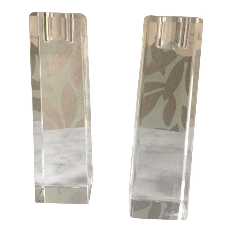 olga cassini crystal candle holder - 800×800