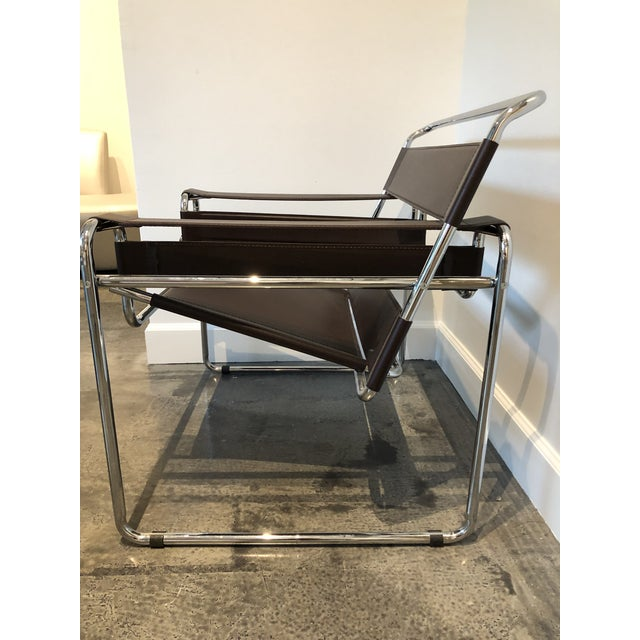 """2010s Modern """"Wassily"""" Style Chair For Sale - Image 5 of 7"""