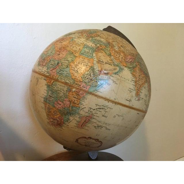 "Plastic Vintage 1990 Replogle World Classic Series 12"" Diameter Globe For Sale - Image 7 of 13"