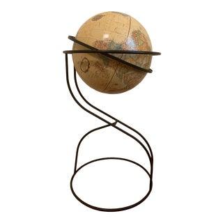 "Replogle Globe Inc. 16"" Iron Standing Globe For Sale"