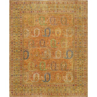 "Pasargad Sultanabad Lamb's Wool Area Rug- 11'6"" X 14'6"" For Sale"