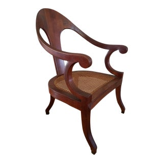 Vintage Italian Sling Back Chair