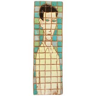 Large Harris Strong Man Tile Art For Sale