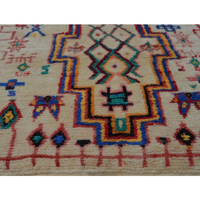 Vintage Moroccan Azilal Rug - 5'5'' x 3'11'' - Image 4 of 6
