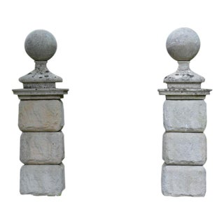 18th Century Ball Finials