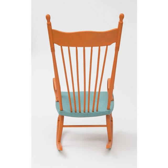 Restored Shabby Chic Style Rocking Chair - Image 3 of 4