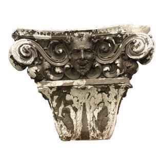 1900's Antique European Architectural Fragment Sculpture For Sale