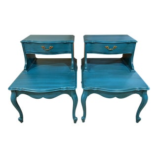 Antique French Provincial Accent Tables - a Pair For Sale