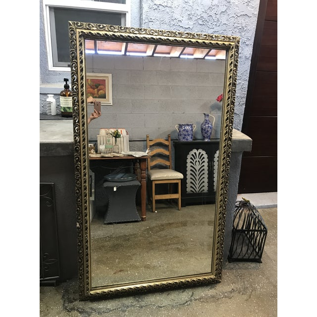 Gold Framed Wall Mirror - Image 2 of 4
