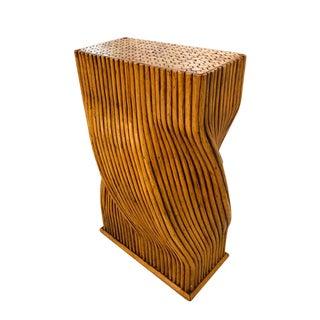 Sculptural Bamboo Pedestal