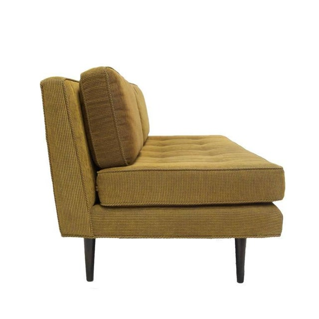 Mid-Century Modern Elegant Two-Seat Edward Wormley for Dunbar Settee Sofa For Sale - Image 3 of 7