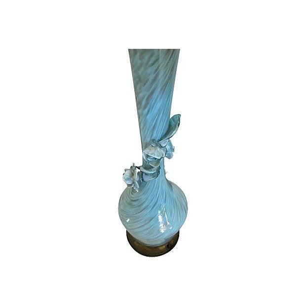 Handblown Murano Glass Table Lamp - Image 3 of 5