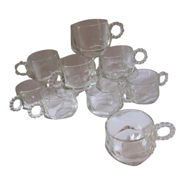 Vintage Punch Cups-11 Pieces For Sale