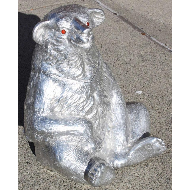 Arthur Court Bear Wine Cooler For Sale In New York - Image 6 of 9