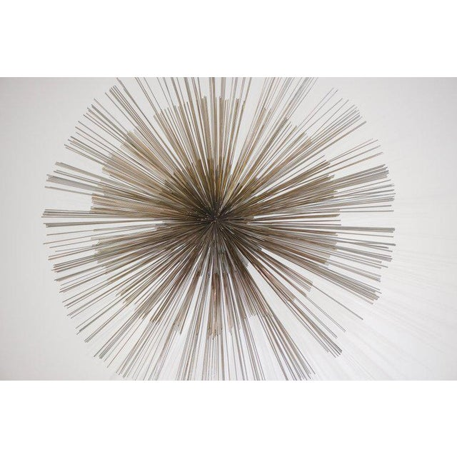 Metal Mid-Century Modern Pom Pom Wall Sculpture by Curtis Jere For Sale - Image 7 of 9