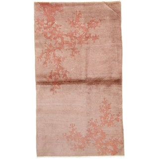 Chinese Art Deco Walter Nichols Area Rug - 4′ × 6′ For Sale