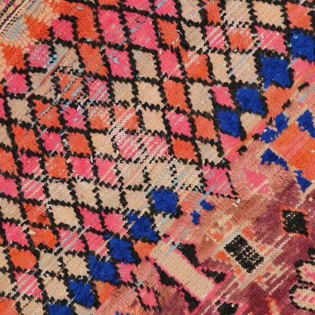 1960s Vintage Berber Moroccan Rug - 5′4″ × 6′2″ For Sale In Dallas - Image 6 of 9