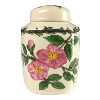 Franciscan Desert Rose Tea Canister/ Ginger Jar