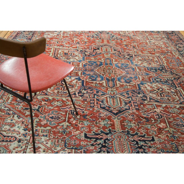 Vintage Heriz Carpet- 8′2″ × 11′ - Image 7 of 8