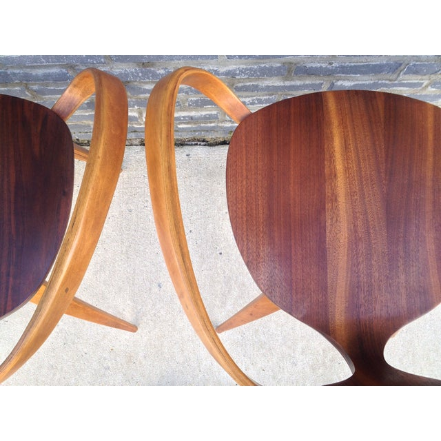 Norman Cherner Pretzel Chairs - A Pair - Image 7 of 7