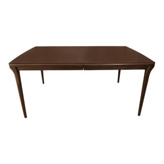 Mahogany Extention Dining Table by John Widdicomb For Sale