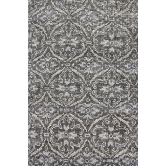 MANSOUR Mansour Fine Handwoven Modern Rug - 6' X 9' For Sale - Image 4 of 4