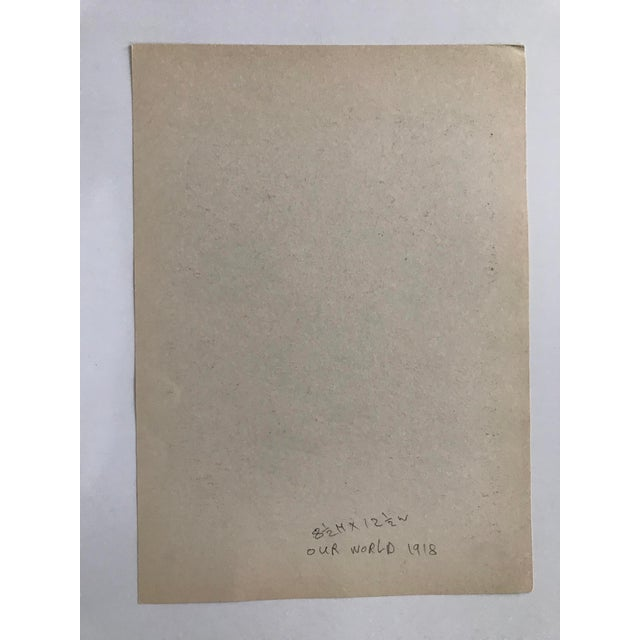 Early 20th Century Antique George Grosz Our World Print For Sale - Image 4 of 6