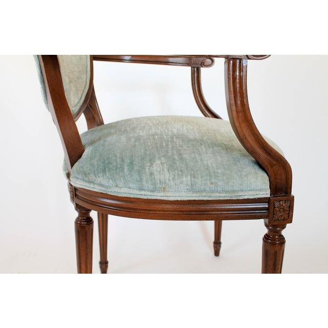 Oval-Back Fauteuil For Sale - Image 10 of 12