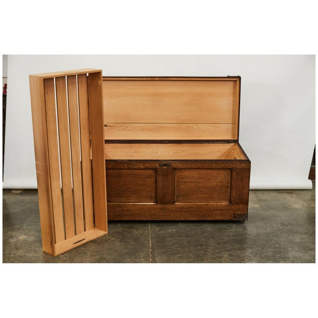 Early 20th Century Arts & Crafts Trunk For Sale - Image 5 of 9