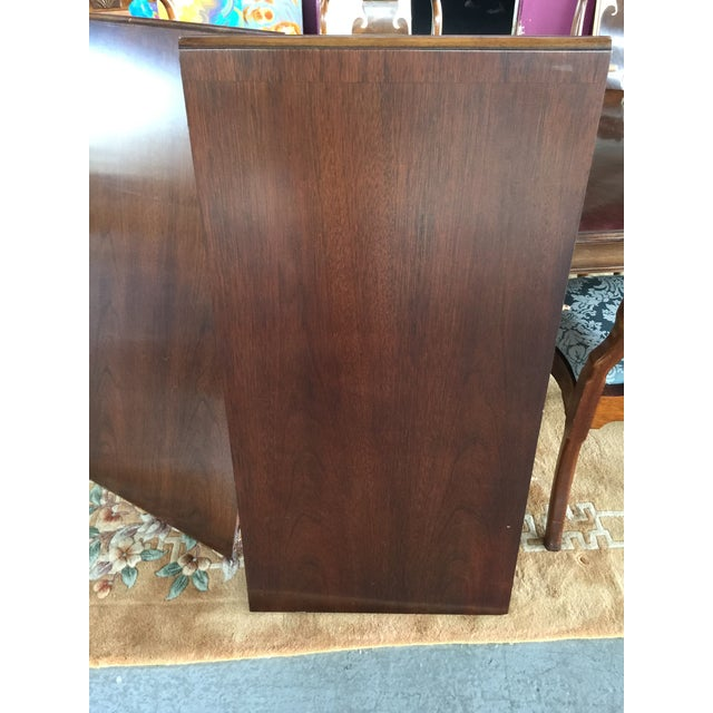 Textile Councill Dining Room Set Table & Chairs For Sale - Image 7 of 12