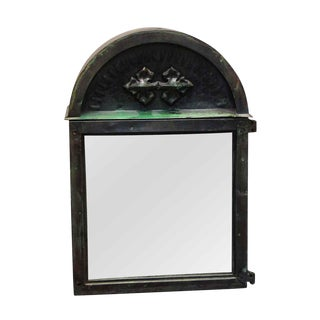 Early 20th Century Gothic Alter Box With Mirrored Front For Sale