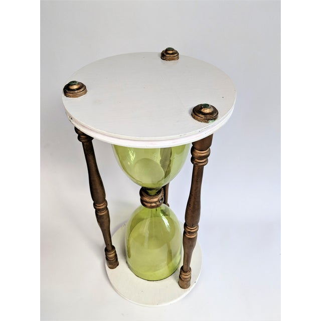 Mid-Century Modern Oversized Hourglass Timer For Sale - Image 3 of 10