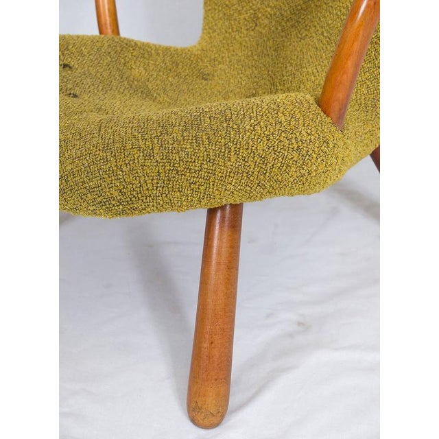 "Pair of Philip Arctander ""Clam"" Chairs For Sale - Image 9 of 10"