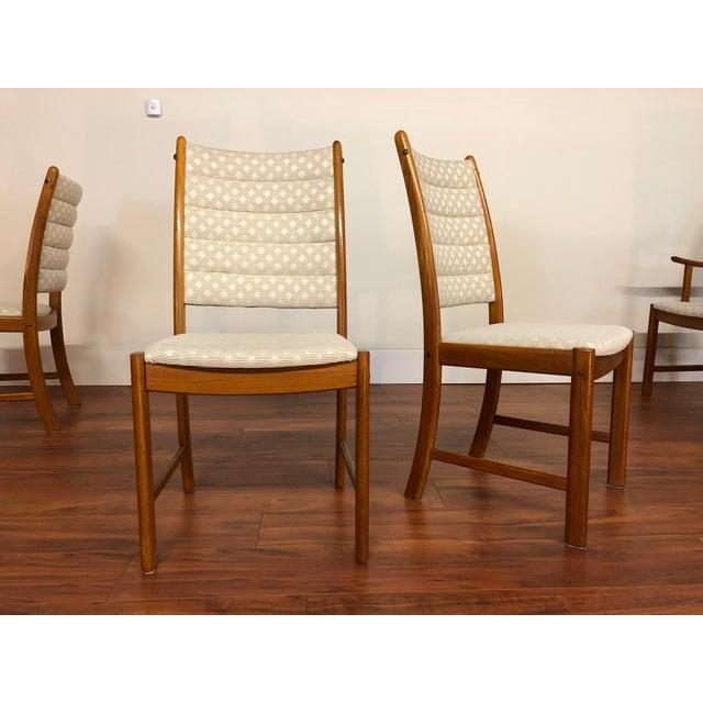 Johannes Andersen for Uldum Vintage Teak Dining Chairs - Set of 6 For Sale - Image 9 of 12