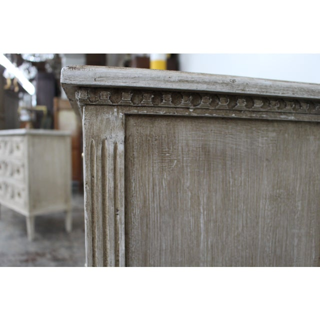 20th Century Vintage Swedish Gustavian Style Nightstands - a Pair For Sale - Image 10 of 12