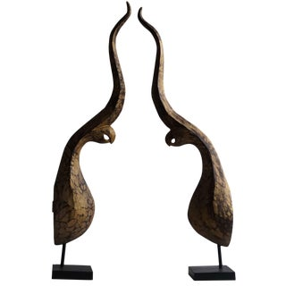 Mid-20th Century Architectural Elements - a Pair For Sale