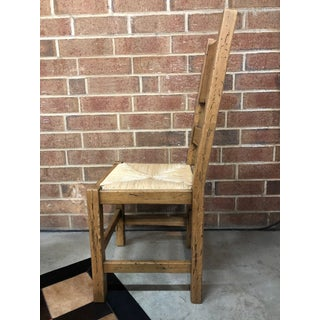 Italian Solid Oak Dining Chair Preview