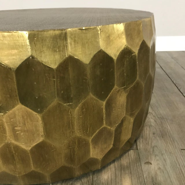 Pottery Barn Metal Clad Coffee Table - Image 7 of 10