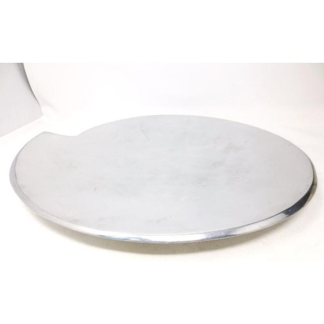 Smith Celetano Nambe 632 Spiral Tray Platter For Sale - Image 4 of 11