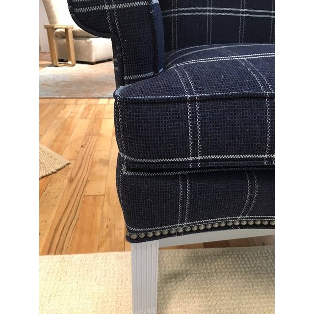 Hickory Chair Townsend Wing Chair Showroom Sample - Image 3 of 5